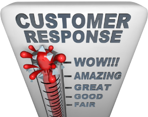 Customer Thermoment Wow Factor