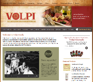 Volpi Foods - Website